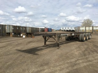 2000 Thermo 53' Triaxle Expandable Container Chassis c/w 11R22.5 Tires. S/N 2T9C1S534Y1094077, Unit # HRTZ 163214.