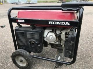 Honda EM 6500SX 120/240V 60Hz 5.5Kva Generator.