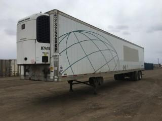 2005 Utility Trailer 53' T/A Van Trailer c/w Air Ride Susp., Thermo King Reefer, 11R22.5 Tires. S/N 1UYVS25315U533250
