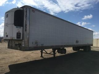 2004 Wabash 53' T/A Van Trailer c/w Air Ride Susp., Thermo King Whisper Reefer, 11R22.5 Tires. S/N 1JJV532W94L868603.