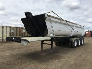 2007 Canuck Triaxle End Dump c/w Air Ride Susp., 11R24.5 Tires. S/N 2C9DS35336C181106