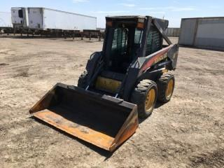 New Holland LS170 Skid Steer S/N LMU030816. Showing 396 Hours. Note:  Requires Repair.