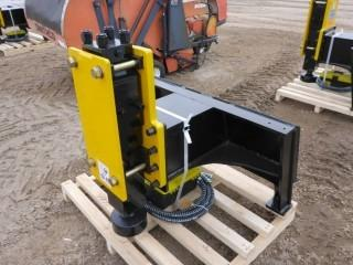 New Post Driver/Pounder Skid Steer Attachment