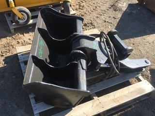 "38"" Swivel Bucket To fit Excavator."