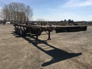 1996 Lode King 53' Expandable Chassis S/N 2LOCCS332TE024910. Unit # 163232.