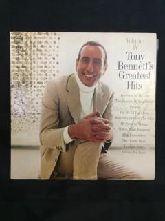 Tony Bennett, Greatest Hits Vinyl.