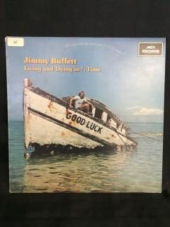 Jimmy Buffett, Living and Dying in 3/4 Time Vinyl.