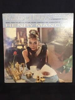Breakfast at Tiffany's Soundtrack Vinyl.