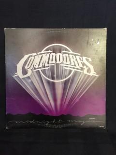 Commodores, Midnight Magic Vinyl.
