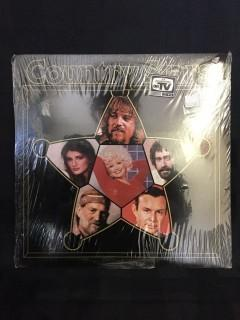 Country Stars Compilation Vinyl.  (Unused, sealed)