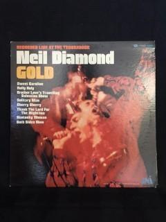 Neil Diamond, Gold Vinyl.