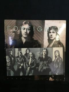 Foreigner, Double Vision Vinyl.
