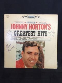 Johnny Horton, Greatest Hits Vinyl.