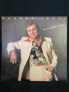 George Jones, I Am What I Am Vinyl.