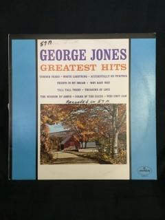 George Jones, Greatest Hits Vinyl.