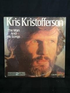 Kris Kristoferson, The Man and His Songs (Greatest Hits) Vinyl.