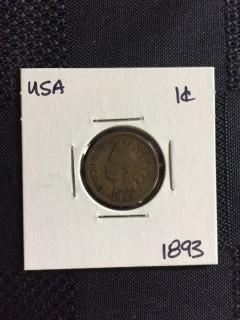 1983 US  Indian Head 1 Cent