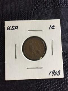 1903 US  Indian Head 1 Cent