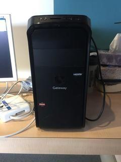 Gateway A10 Desktop DX4380-EB35 With Windows 8, 1TB Hard Drive, Requires Repair.