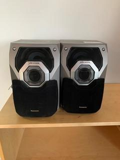(2) Panasonic Stereo Speakers.