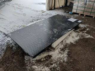 "10 Ton Floor Scale w/ 78"" Platform"