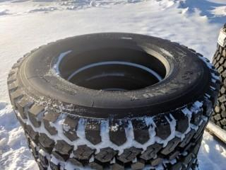 Qty of (4) New Unused Roadlux 11R24.5 Truck Tires