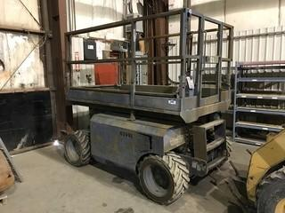 2005 Genie GS-2663 Scissor Lift, Showing 2,854hrs, Diesel, VIN GS680544085