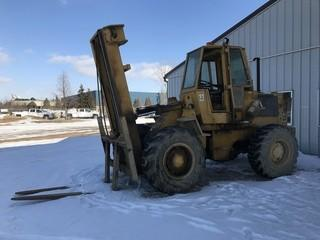 Cat 930 Articulating Wheel Loader, EROPS, Showing 177hrs VIN 41K4985,