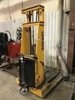 Liftrite LT144 Lift Truck, 200lb. Capacity, 12V System, Serial # 4642