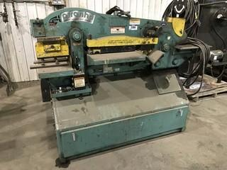Piranha P70 70TON Iron Worker, 3-Phase, Serial# P70-1501