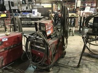 Lincoln Electric CV-300 Welder w/ Lincoln LN-7 Wire Feeder, Hoses, Gun etc.