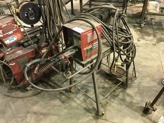 Lincoln Electric LN-7 Wire Feeder w/ Cart, Hoses etc.