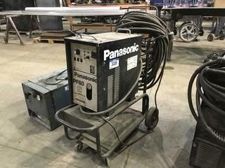 Panasonic PF60 Plasma Cutter w/ Cart, Hoses, Torch etc.
