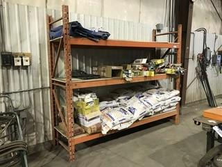 "Section of Pallet Racking 30"" X 9' X 8'"