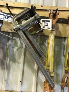 Lot of (4) Bessey Clamps