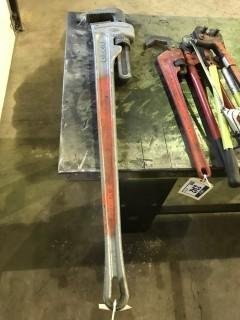 "48"" Ridgid Aluminum Pipe Wrench"