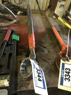 """Lot of 3"""" Spud Wrench"""