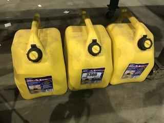 Lot of (3) Diesel Fuel Jerry Cans