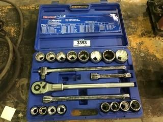 "Westward 3/4"" Socket Set"