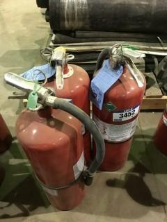 Lot of (3) ABC Fire Extinguishers