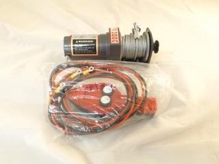 2000 LB  12V ATV Electric Winch (0.9HP/3400RPM) - NEW