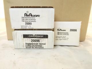Lot of Assorted Tire Pressure Sensors