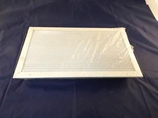 """Qty of (5) 24""""x 14""""x 3"""" Commercial Register Vents in White"""