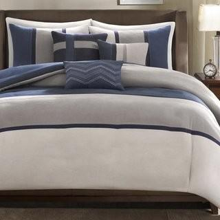 Latitude Run Rauscher 6 Piece Duvet Cover Set - Blue - Queen (LATR3869_19193286_19193289)