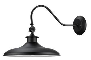Globe Electric 44095 - Wall Sconces Outdoor Lighting - Blk
