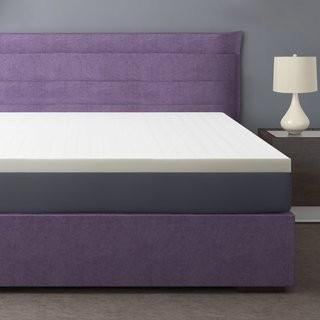 Best Price Quality 2.5 Memory Foam Mattress Topper - Twin (BPMT1046_14628582)
