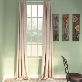 "Darby Home Co Blackout Thermal Curtain Panels - Clasic Taupe - 50"" x96"" (DRBC2065_18027369_18027374)"