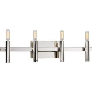 Orren Ellis Manasi 4-Light Vanity Light - Chrome (ORNE4592)