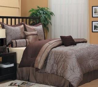 Nanshing America, Inc Dionne 7 Piece Comforter Set - Queen (NAAM1081_17799052)