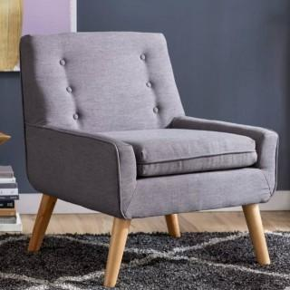 Mercury Row Slipper Chair - Charcoal Grey (MCRR1839_21833528)